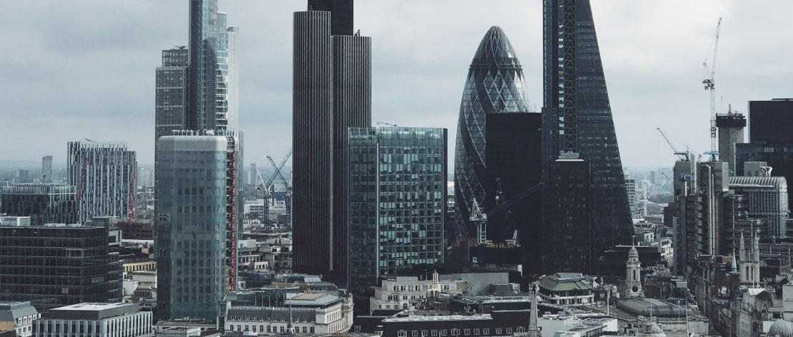 Built Environment Marketing agency london skyline